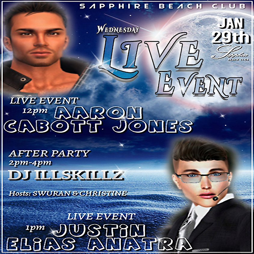 WEDNESDAY PARTY / AARON & JUSTIN AND DJ ILLSKILLZ