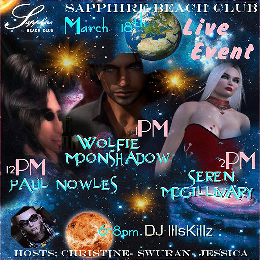 WEDNESDAY LIVE EVENTS AND PARTY/ PAUL NOWLES & WOLFIE & SEREN & DJ SKILLZ