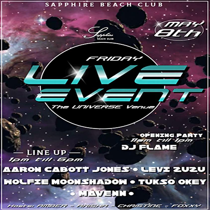 FRIDAY LIVE EVENTS & PARTY /  AARON & LEVI & WOLFIE & TUSKO & MAVENN & DJ FLAME (3)