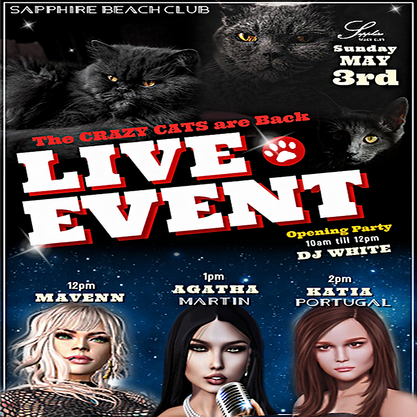 SUNDAY LIVE EVENTS & PARTY/ MAVENN & AGATHA & KATIA & DJ WALT WHITE (2)