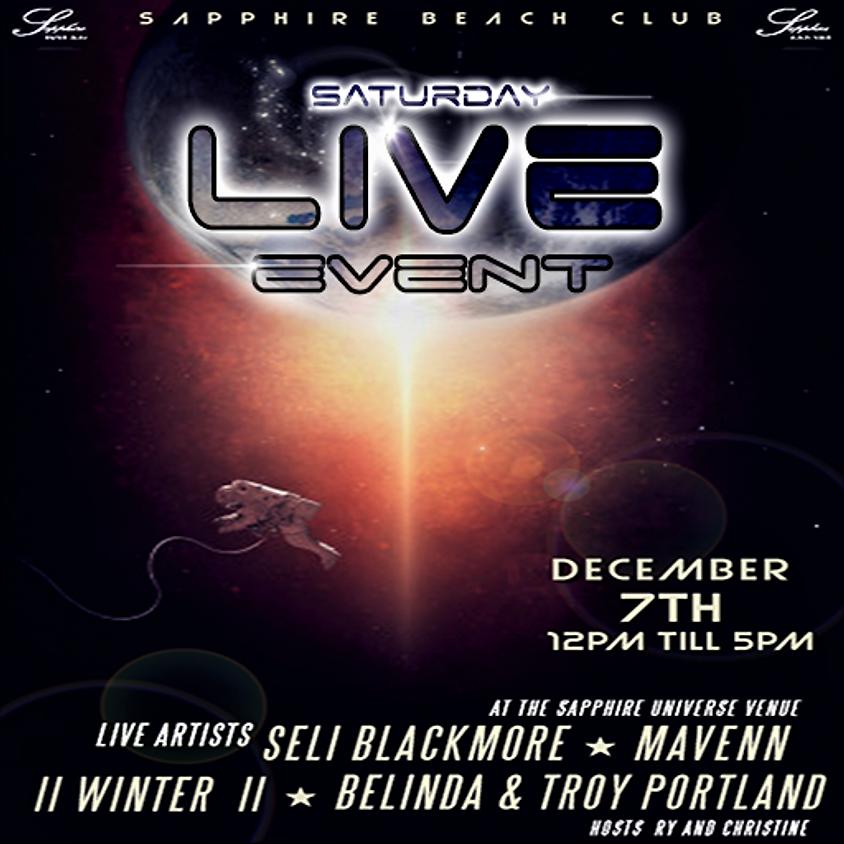 SATURDAY LIVE EVENTS & PARTY / DJ WHITE & SELI BLACKMORE & MAVENN & WINTER * TROY AND BELINDA PORTLAND
