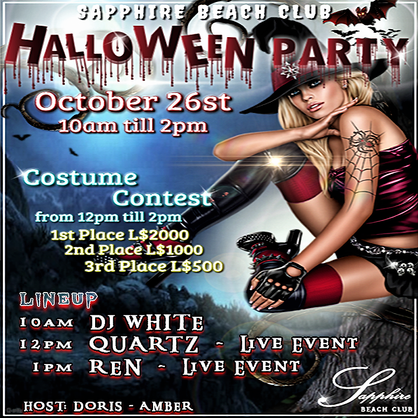 SATURDAY LIVE EVENT & PARTY/ DJ WHITE & QUARTZ & REN