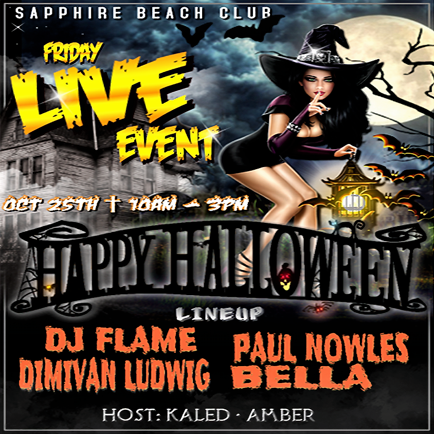 FRIDAY LIVE EVENT & PARTY / PAUL NOWLES & DIMIVAN & BELLA & DJ FLAME