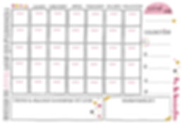Planning mensuel gratuit