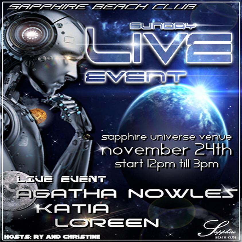 SUNDAY LIVE EVENTS / AGATHA & KATIA & LOREEN