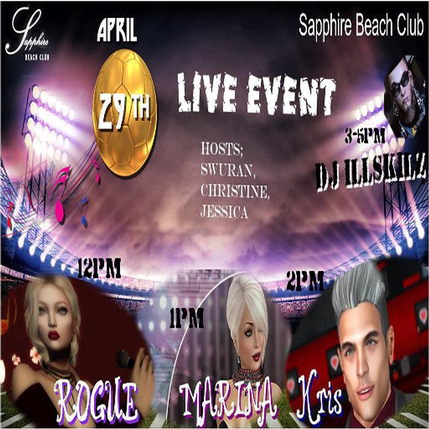 WEDNESDAY LIVE EVENTS AND PARTY/ ROGUE & MARINA & KRIS & DJ SKILLZ (2)