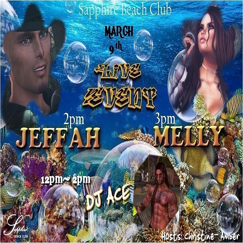 MONDAY LIVE EVENTS AND PARTY/ JEFFAH & MELLY & DJ ACE