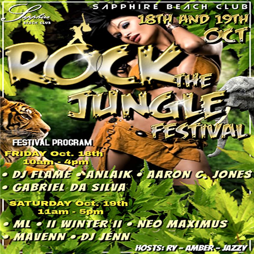 LIVE EVENT & PARTY / JUNGLE ROCK FESTIVAL / ANLAIK & AARON & GABRIEL