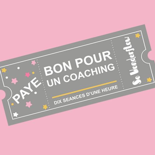 Pack 10 séances de coaching