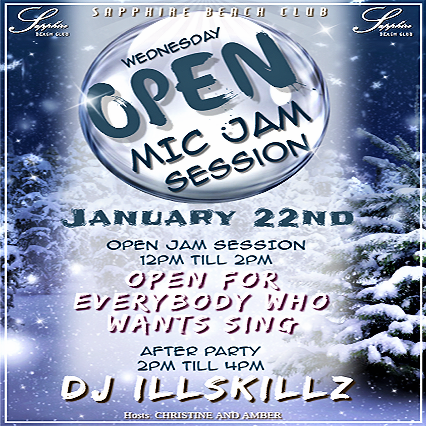WEDNESDAY PARTY / OPEN MIC JAM AND DJ ILLSKILLZ