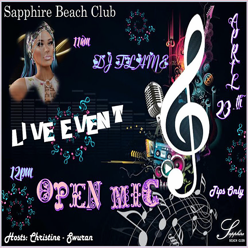 THURSDAY OPEN MIC AND DJ FLAME  (1)