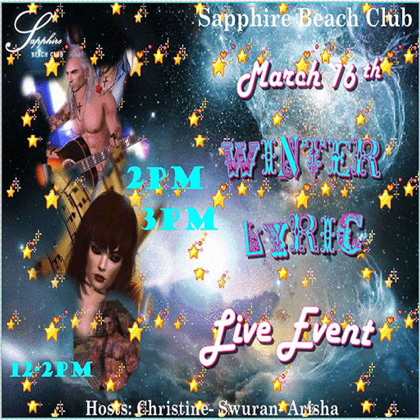 MONDAY EVENTS & PARTY/ WINTER & LYRIC & DJ ACE