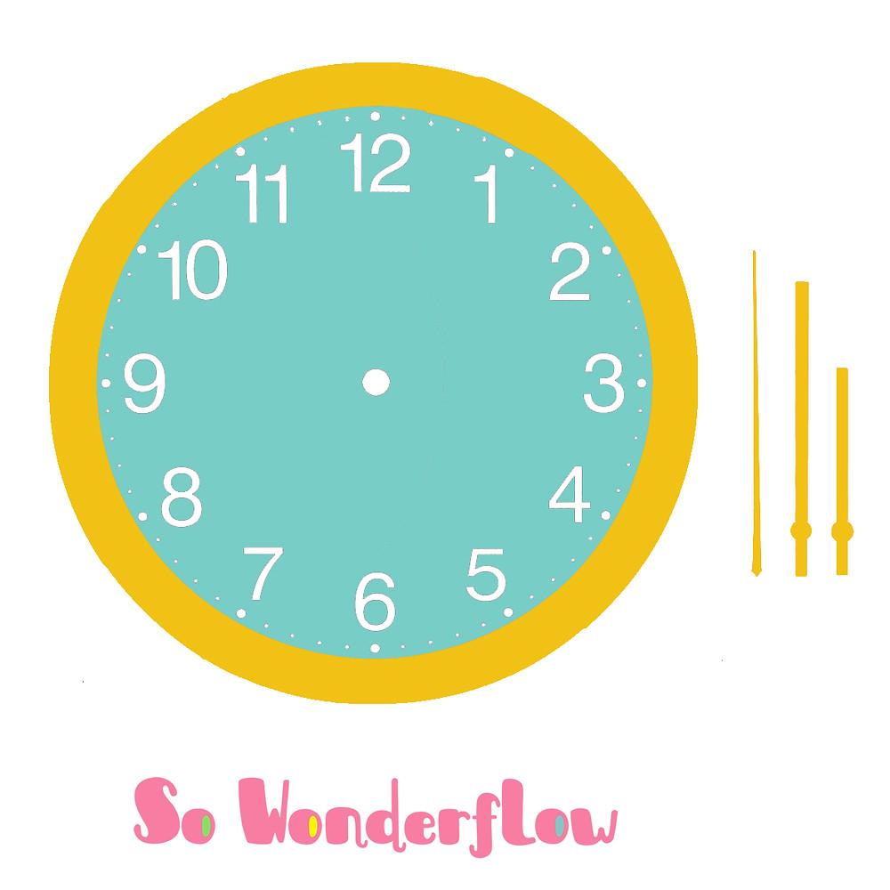 Horloge sans aiguille