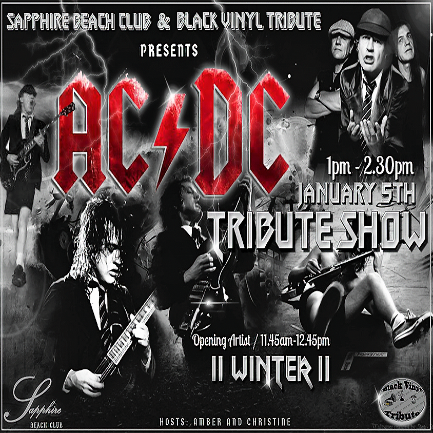 SUNDAY LIVE EVENTS  AND PARTY/ WINTER  AND AC/DC TRIBUTE
