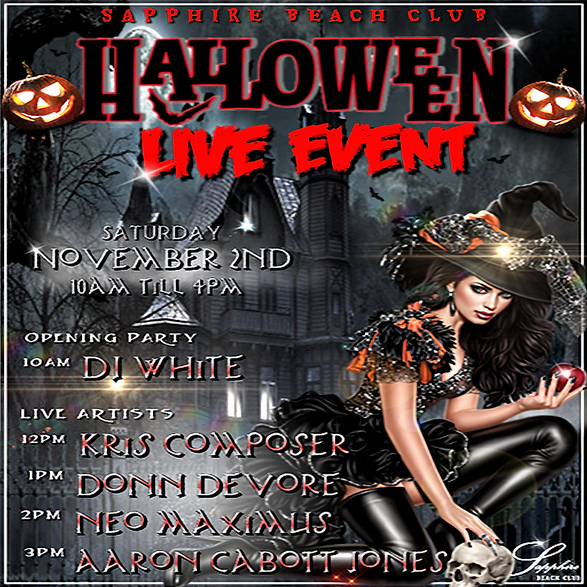SATURDAY SPECIAL /LIVE EVENT & PARTY/DJ WHITE, KRIS, DONN, NEO & AARON