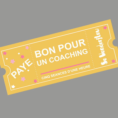 Pack 5 séances de coaching