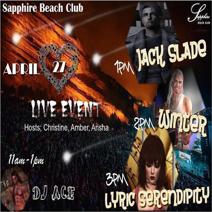 MONDAY LIVE EVENTS & PARTY/JACK & WINTER & LYRIC & DJ ACE  (1)