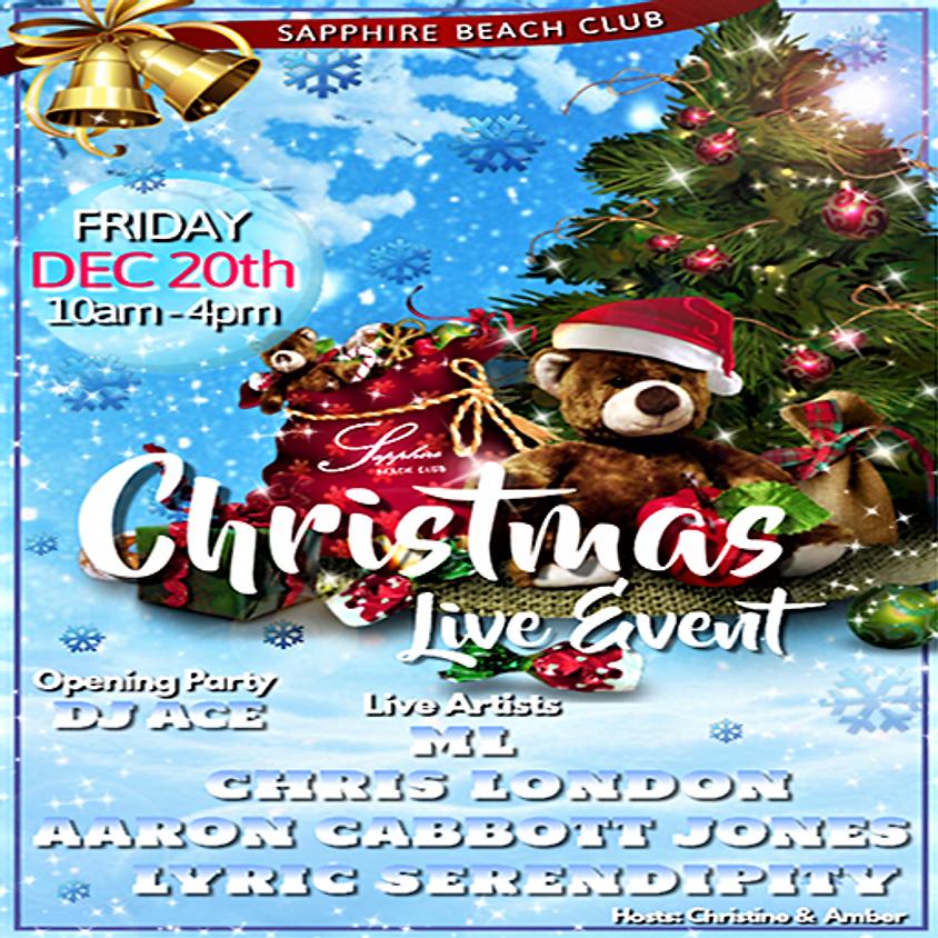 FRIDAY LIVE EVENTS & PARTY / M.L. & CHRIS LONDON & AARON C. JONES &LYRIC SERENDIPTY & DJ ACE