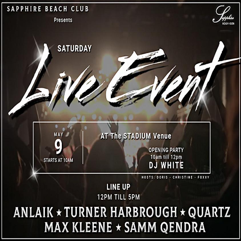 SATURDAY LIVE EVENTS & PARTY/ ANLAIK & TURNER & QUARTZ & MAX KLEENE & SAMM & DJ WALT WHITE  (2)