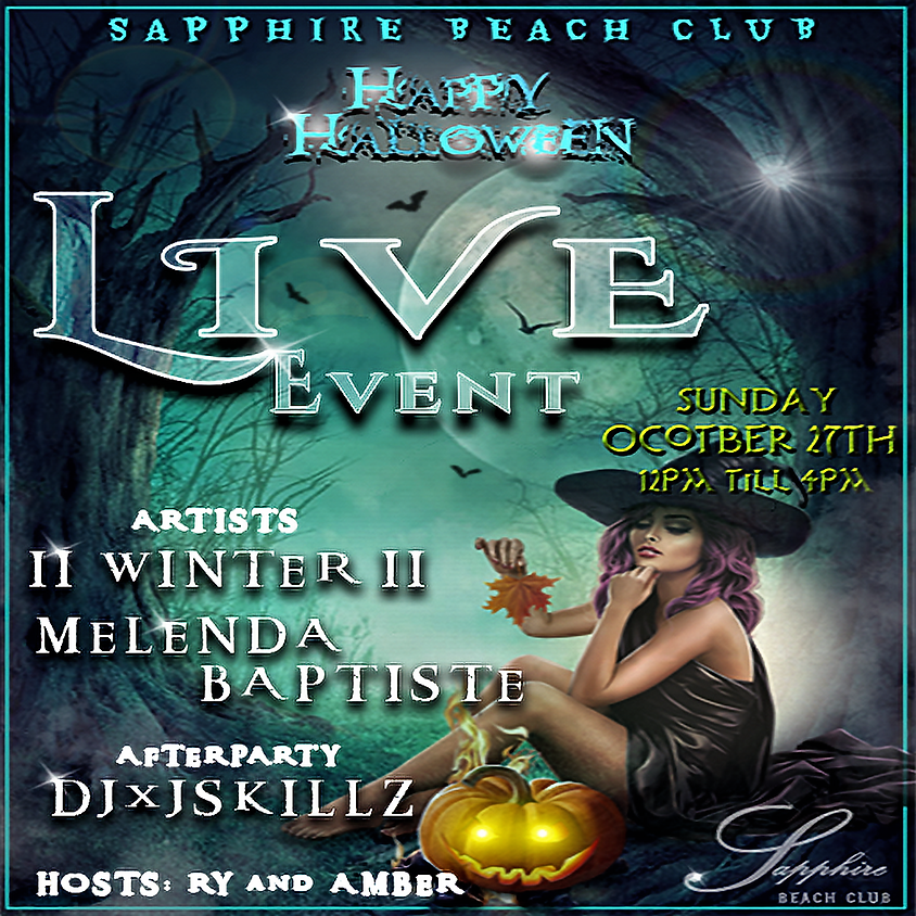 SUNDAY LIVE EVENTS & PARTY / WINTER & MELENDA BAPTISTE & DJ SKILLZ