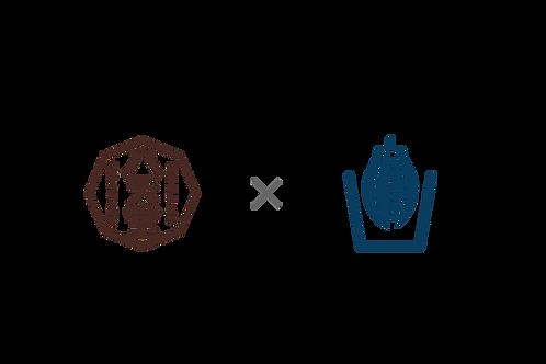 八天堂×沖野上ブルーカカオ くりーむパン