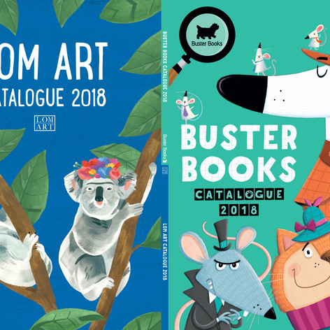 Buster Books & LOM ART Catalogue 2018