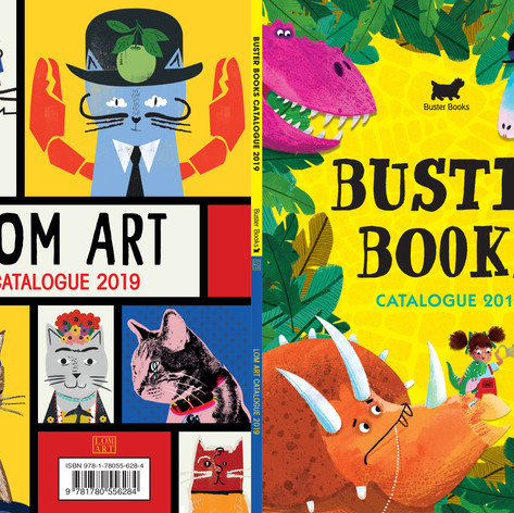 Buster Books & LOM ART Catalogue 2019
