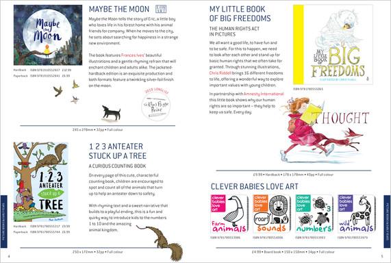 Buster Books & LOM ART Catalogue 2019