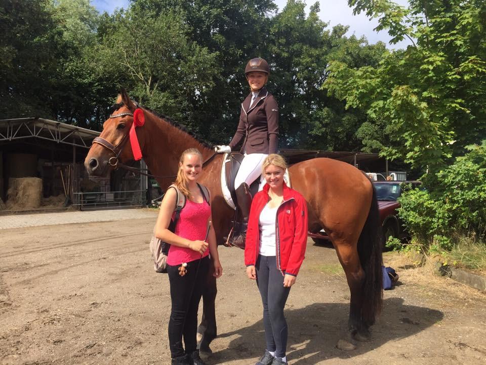 im August 2015 mit Fiona und Isa