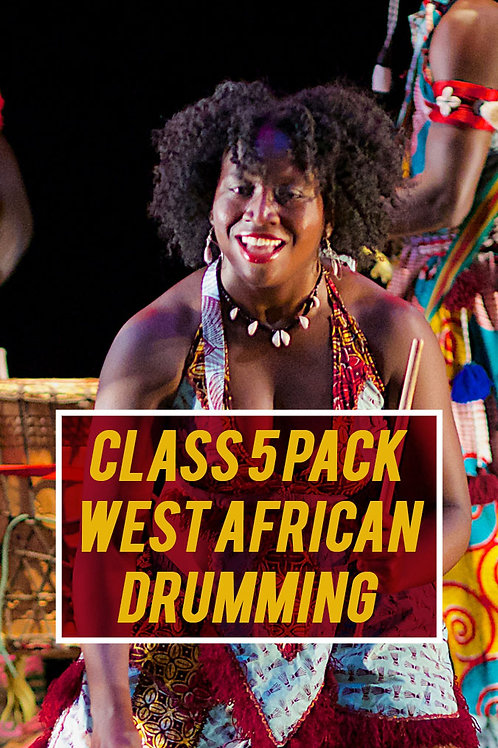 Class 5 Pack: West African Drumming