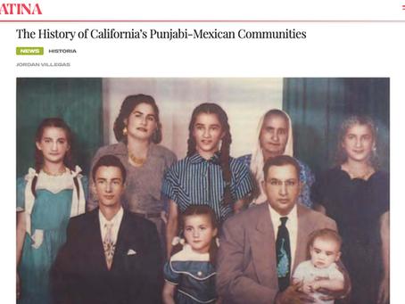 The History of California's Punjabi-Mexican Communities