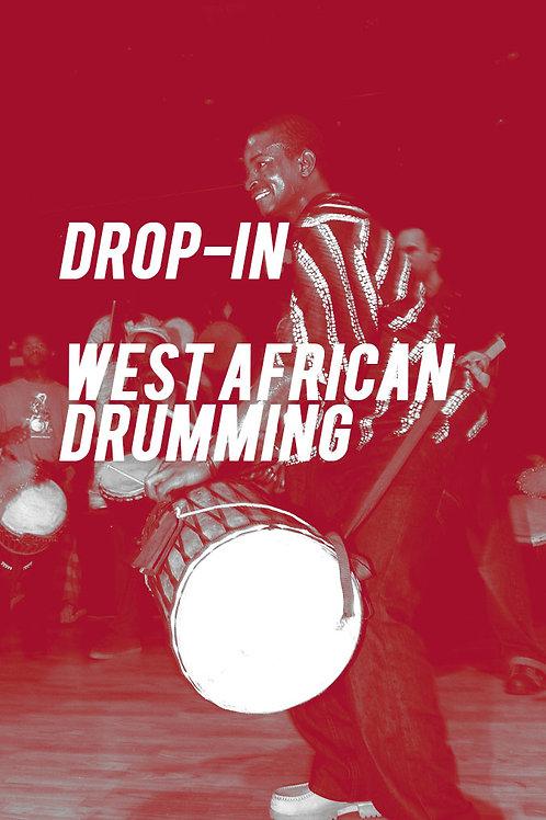 Drop-In: West African Drumming
