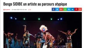 Bongo SIDIBE un artiste au parcours atypique/an artist with an atypical career