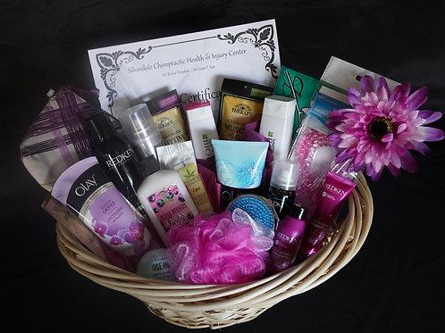 Massage & Pamper Gift Basket