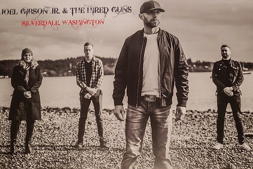 Poster - Joel Gibson Jr. & The Hired Guns
