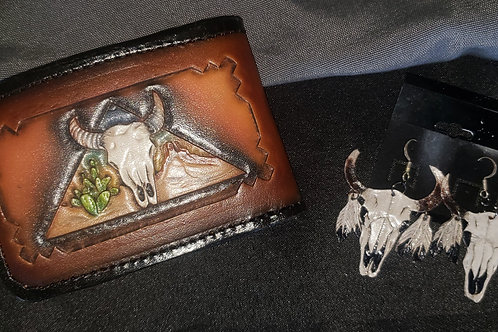 Wallet & Earrings