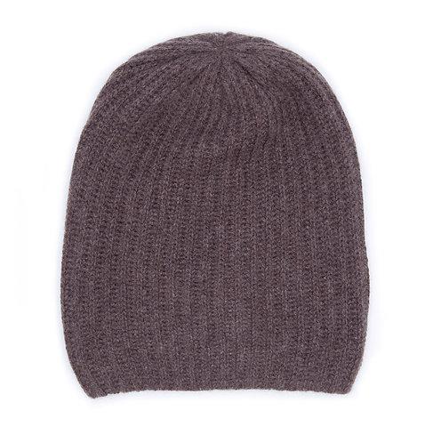 Extra Warm Cashmere Hat Brown