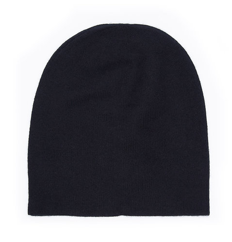 100% Cashmere Loose Beanie Hat