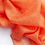 Thumbnail: 100% Cashmere Light Scarf Shawl Blood Orange