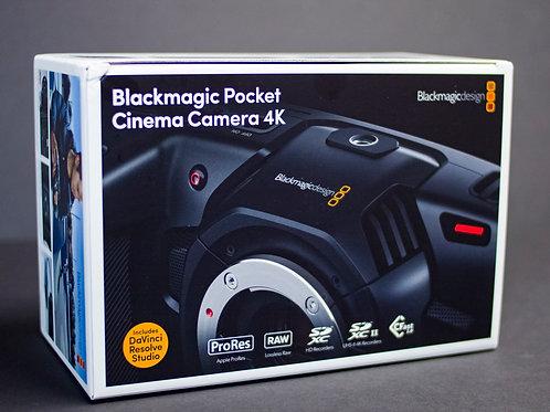 Blackmagic Pocket Cinema Camera 4K (US & Intn'l)