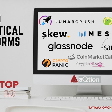 Top 10 crypto analytic patforms