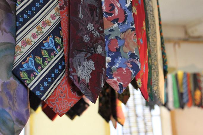cravates modernes