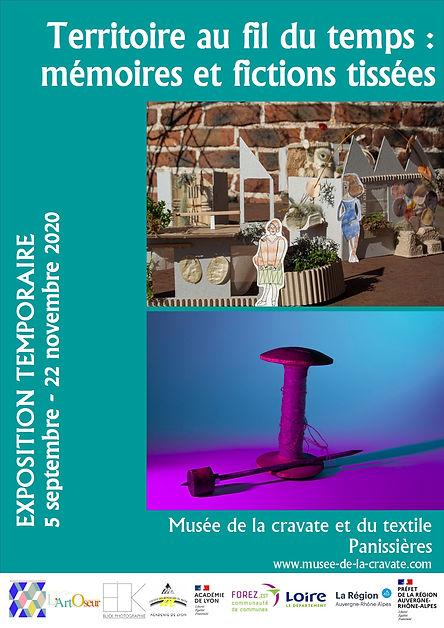 affiche expo Territoire au fil du temps