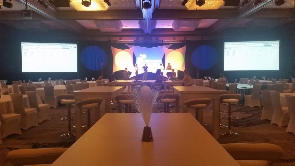 Ballroom Conference Setup