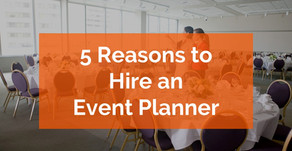 5 Reasons You Need To Hire an Event Planner