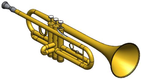 Runner Up: Nicholas Amadeo's Trumpet