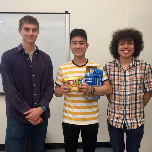 Runner Up: Zachary Yuan