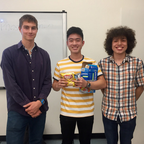 Runner Up: Zachary Yuan