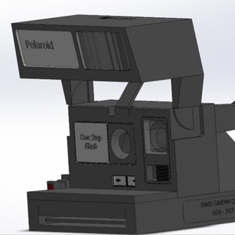 Sruthi Mukkamala: Polaroid Camera