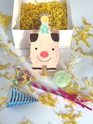Birthday Piggie party in a box